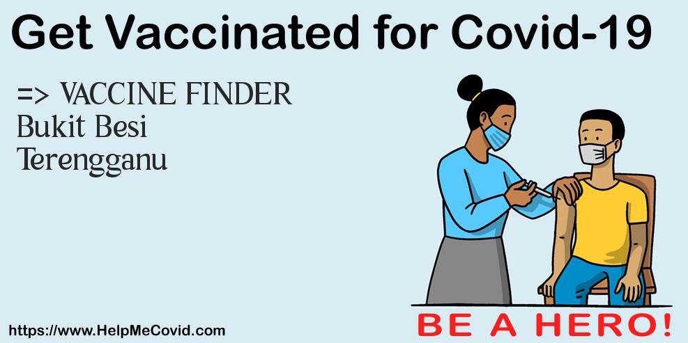 Covid Vaccination In Bukit Besi Terengganu